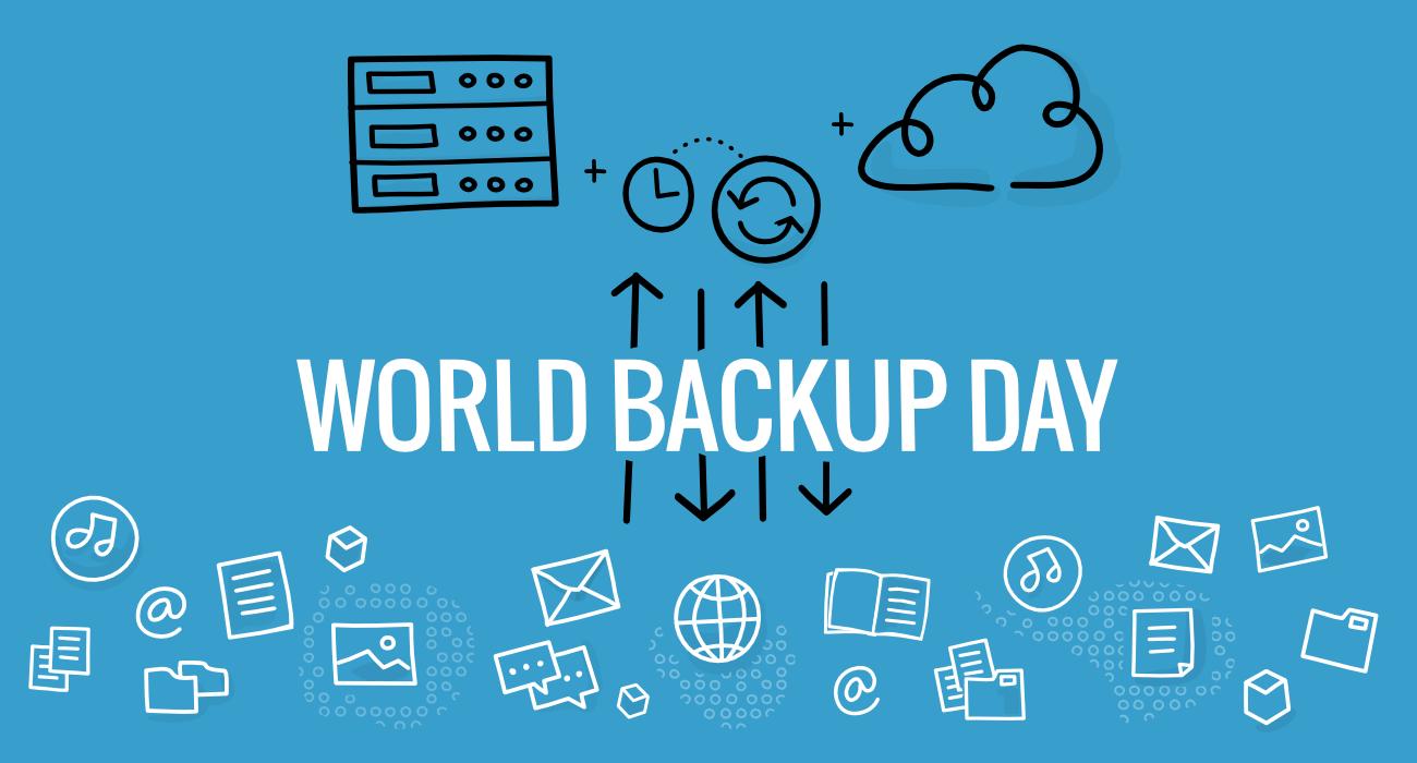 Datensicherung und der World Backup Day am 31. März 2021